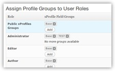 BuddyPress xProfiles ACL
