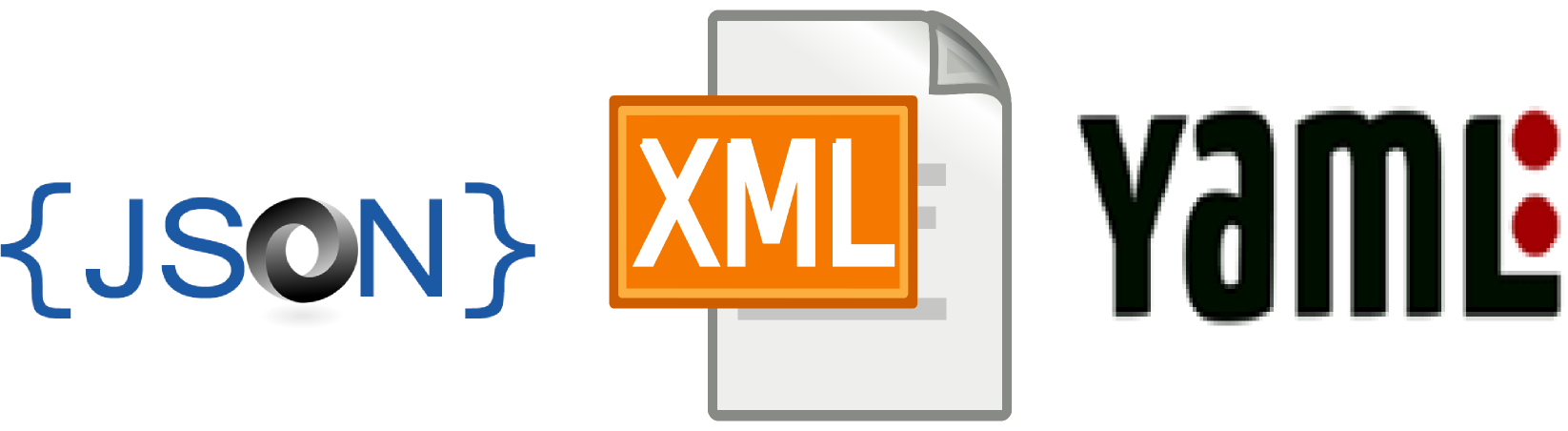 XML vs YAML vs JSON